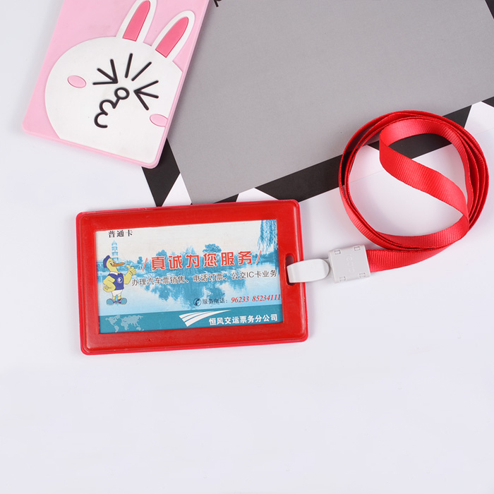 High Quality Card Holder With Exquisite Lanyard Badge Holder ID Card Holder Bus Cards Badge Holder Accessories For School Office in Badge Holder Accessories from Office School Supplies
