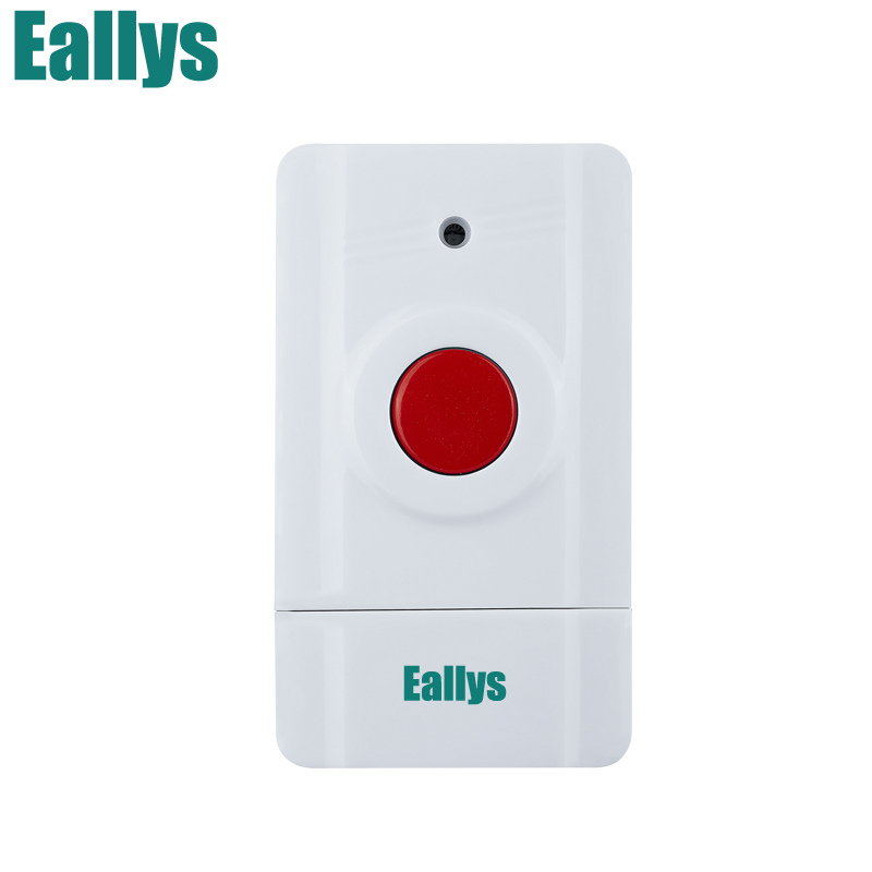 433MHz Wireless Panic Button Emergency Button For Home Alarm System Home Security Voice Burglar Smart Alarm System wireless pager system 433 92mhz wireless restaurant table buzzer with monitor and watch receiver 3 display 42 call button
