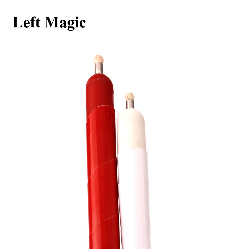 1 Pcs Appearing Candle Magic Tricks White & Red Magic Candle Wax Stage Magic Fire Magic Close Up Magic Magician Gimmick Props