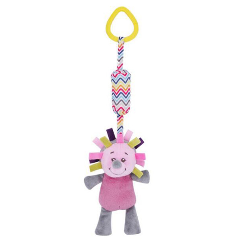 Fashion Cartoon Rattle Cute Baby Toys Soft Stroller Toy Educational Infant Toys Bed Hanging Wind Chimes 0-12 Months Newborn Gift