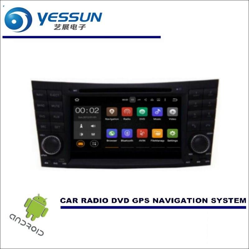 Système de Navigation de voiture YESSUN lecteur DVD CD GPS Radio Navi stéréo Wince/Android-pour Mercedes Benz CLK classe W209 2005 ~ 2006