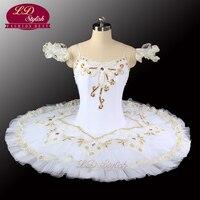 White Swan Lake Ballet Tutu Costumes Professional Ballet Tutu Girls Classical Ballet Tutu Stage Dancewear LD0029