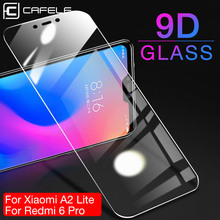 CAFELE Screen Protector For Xiaomi 9 8 se 5 A2 Lite Redmi note 7 Tempered Glass 2.5D Edge HD Clean Protective Phone Film