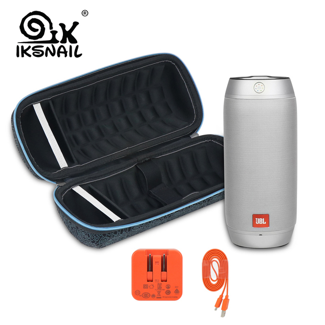 US $10 99 20% OFF|IKSNAIL New PU EVA Hard Case For JBL Pulse 2 Speaker  Carry Storage Case Pouch For JBL Pulse2 Bluetooth Speaker Extra Space  Bags-in