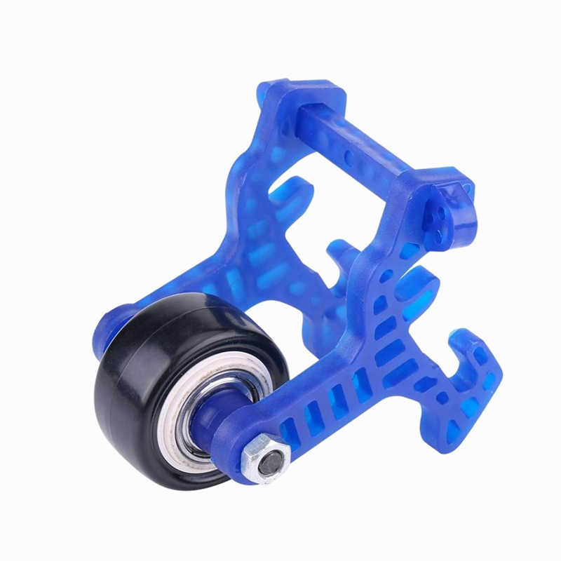 Front Stand Up <font><b>Wheel</b></font> High Speed Raise Head Tire For 1/10 <font><b>Scale</b></font> Hsp 94111 94188 RC Car Model Anti-Roller Tyre image
