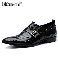 Spring Summer High Quality Genuine Leather Shoes Male Mens Business Dress men Men Dress Shoes British retro men shoes cowhide цена 2017