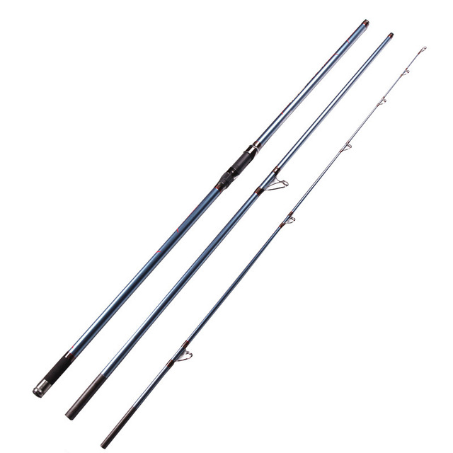 Best Price distance throwing rod surf casting spinning fishing rod carbon fiber 4.2m superhard fishing pole GAN067