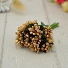 Handmade Bright Artificial Stamen Small Flowers