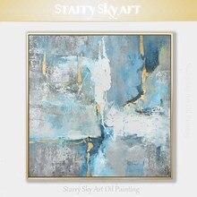 Nieuwkomers handgeschilderde Hoge Kwaliteit Big Size Abstracte Olieverfschilderij soorten Abstract Acryl Schilderen voor wall Art