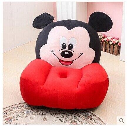 Моющиеся Съемная подушка ленивый стул, 50x48x30 см Микки игрушка анти-скольжения подушки татами подушки сиденья, Рождество подарок w5784