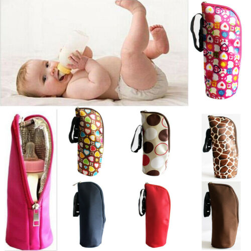 Baby Kid Feeding Milk Bottle Warmer Storage Holder Carrier Bag Portable Travel