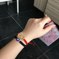 Turkish Evil Eye Bracelet Love Forever Lucky Eye Kabbalah Jewish Jewelry Turkey Woman or Baby or Children Adjustable