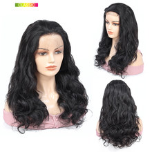 Body Wave Lace Wig With Frontal Lace Front Wig Human Hair Closure Wig Free Part Indian Wavy Hair Nicelight Lacefront Wig8-24Inch(China)
