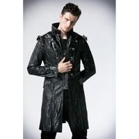 Punk Rave Fashion Mens Womens Punk Streampunk Visual Kei Gothic Long&short Jacket Coat Hoodie Y366
