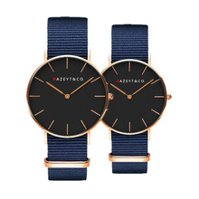 Fashionable men and women contracted digital dial quartz watch student trend nyl