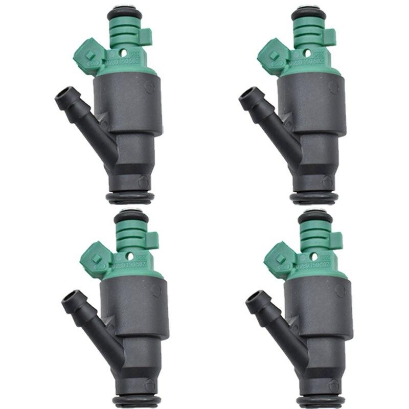 4 pc nouveaux injecteurs de carburant pour Kia Sportage 4cyl 2.0L 95-02 OK01D13250 OEM 0280150502 FJ384 M690 buse4 pc nouveaux injecteurs de carburant pour Kia Sportage 4cyl 2.0L 95-02 OK01D13250 OEM 0280150502 FJ384 M690 buse