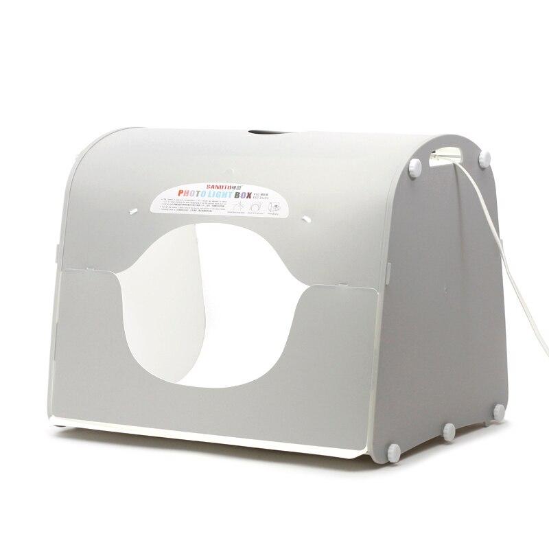 5pcs/lot LED photo studio Professional Portable Mini Kit Photo Photography Studio Light Box SANOTO