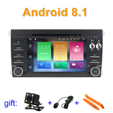 Android 8 1 Car DVD Player for Porsche Cayenne 2003 2010 with font b GPS b
