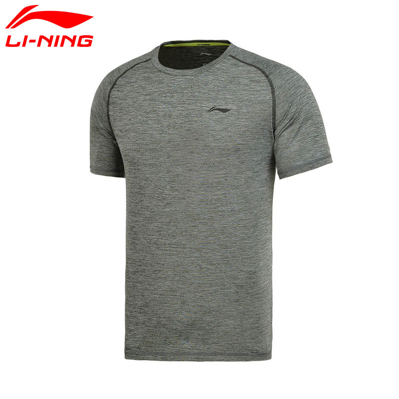 Li Ning Men's Training T Shirts ATDRY 91% Polyester 9% Spandex LiNing  Sports Tee Tops ATSM145 MTS2467 on Aliexpress.com | Alibaba Group