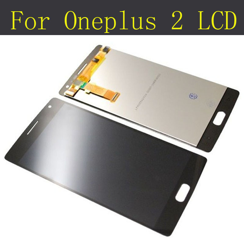 For Oneplus 2 LCD Display+Touch Screen New Original Digitizer Glass Panel Assembly Screen For One plus 2 Oneplus Two tsurinoya fishing lure minnow hard bait swimbait mini fish lures crankbait fishing tackle with 2 hook 42mm 3d eyes 10 colors set