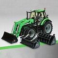 Оригинал Weise-toys Металлический Сплав DEUTZ-FAHR Agrotron 6190 TTV Трактор Экскаватор Сельскохозяйственной Техники Модель Toys for Children