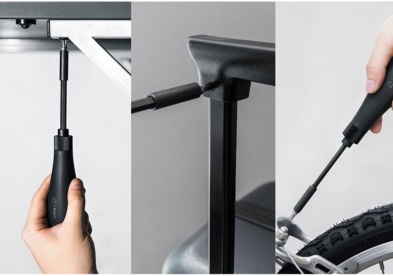 100% xiaomi mijia wiha screw driver Hand Tools screw Kit 8-in-1 Precision Bits Hidden Magazine Magic holder screwdriver set tornavida seti (7)