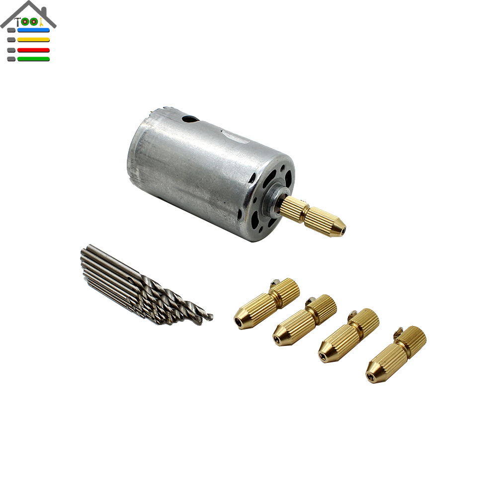 Dc12 24v Electric Motor Hand Drill Set Press Drilling With