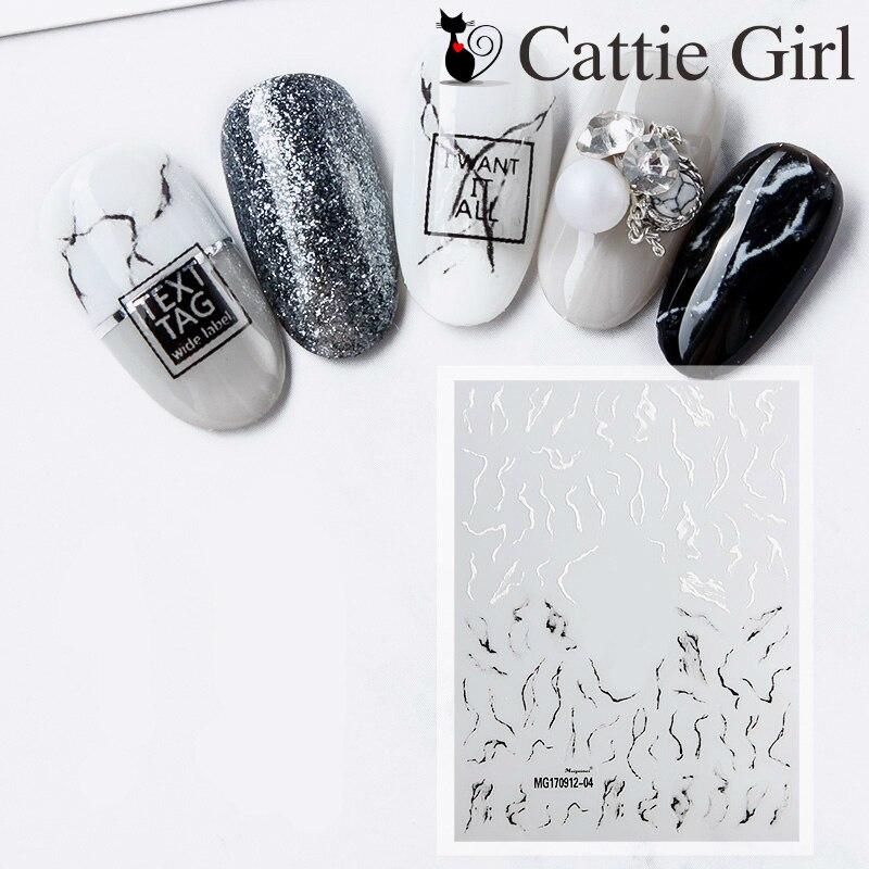 Aliexpress.com : Buy 1 Sheet Marble Stone 3D Nail Art
