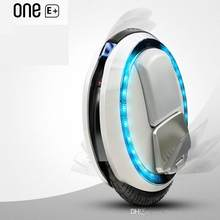 Gain Ninebot One E+ smart single one wheel unicycle self balance scooter electric monowheel wheelbarrow hoverboard skateboard deal