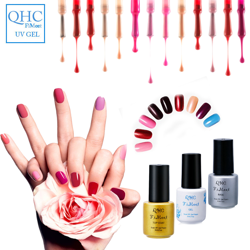 QHC FiMeet Peel Off Liquid UV Nail Gel Polish Tape Latex Tape & finger skin protected liquid Palisade Easy clean Base Coat