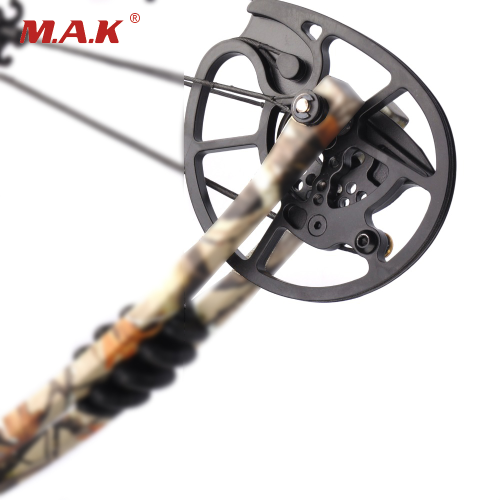 1Piar High Quality Aluminum alloy Archery Compound Bow Pulley for 20-70 LBS Compound Bow DIY for Hunting Shooting 35 70 lbs powerful compound bow aluminum alloy archery bow arrow for outdoor hunting shooting