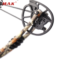 1Piar High Quality Aluminum alloy Archery Compound Bow Pulley for 20 70 LBS Compound Bow DIY for Hunting Shooting