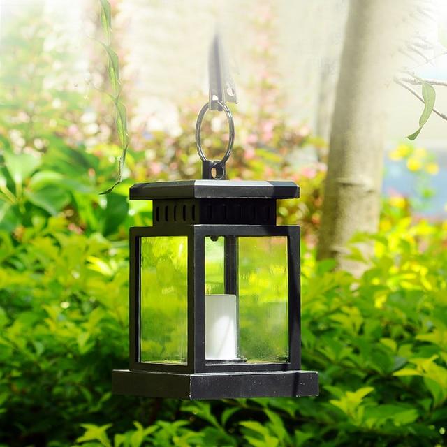 Led Solar Light Outdoor Waterproof Panel Portable Hanging Umbrella Lantern Garden
