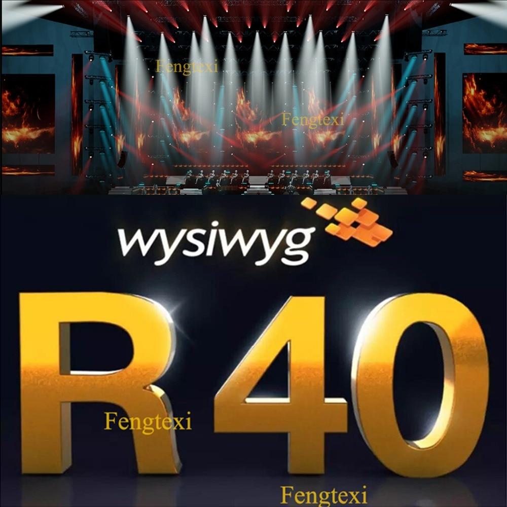 2019 Stage Lights Show Builder Software WYSIWYG Release R40 Crack Dongle Emulator Clone USB Wysiwyg 40 R40 Preform Encrypted Dog