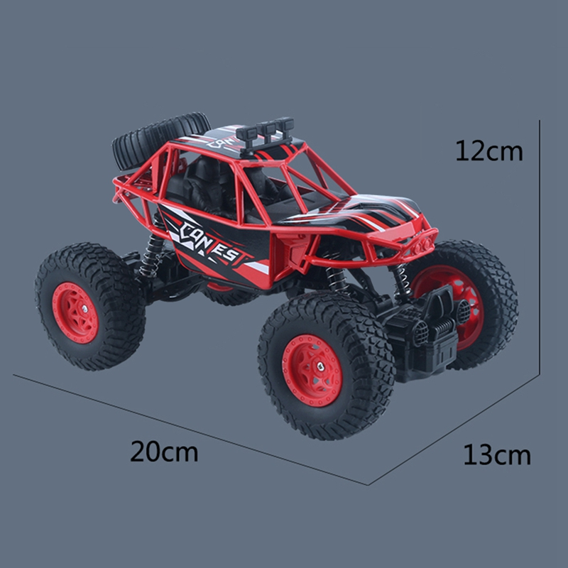 Image 5 - Rc Car 4Wd 2.4Ghz Climbing Car Bigfoot Car Remote Control Model Off Road Vehicle Toy-in RC Cars from Toys & Hobbies