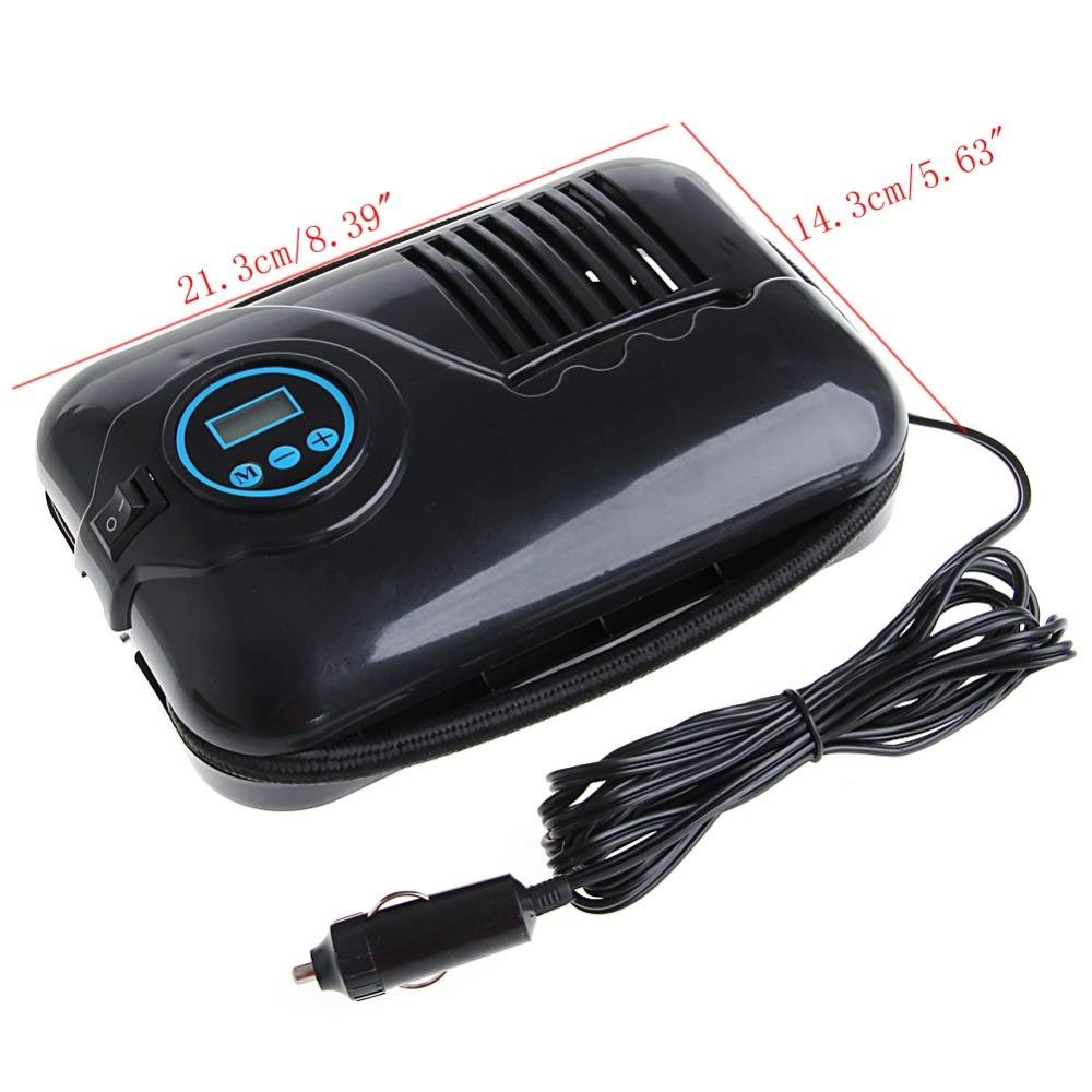 12V 250psi Digital Air Compressor Portable Car Van Inflator Pump Auto Cut Off
