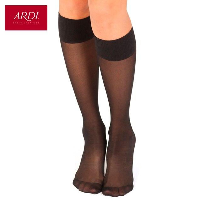 Полупрозрачные шелковые носки 40 den ARDI
