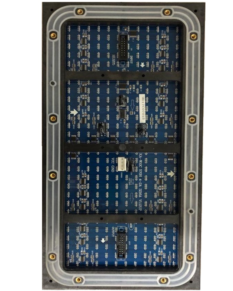 32*16dots P10 Outdoor DIP 570 Lamp Bead Package 1R1G1B Module 320x160mm 4scan Led Module Led Display Programmable Led Sign