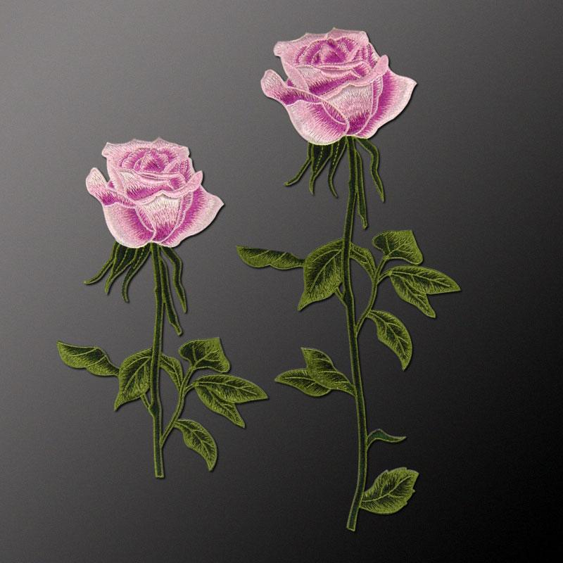 Nakış Gül Çiçek Yamalar üzerinde ücretsiz Nakliye Dikiş - Sanat, el sanatları ve dikiş - Fotoğraf 6