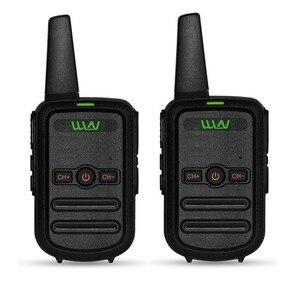 Image 2 - 2 sztuk WLN KD C52 MINI ręczny nadajnik fm KD C52 dwukierunkowe Radio szynka HF cb radio Walkie Talkie frs gmrs lepsze niż KD C51
