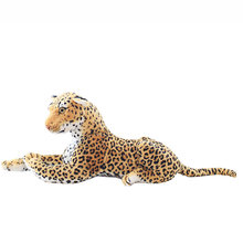 Simulation Leopard Animal Plush Toy 30CM Soft Plush Animals Bags Children Soft PP Cotton Kids As Birthday Christmas Gift(China)