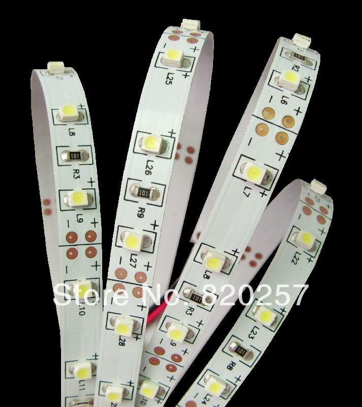 Gratis frakt SMD3528 Flexibel LED Strip band 60leds / m 300LEDs 5m - LED-belysning