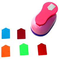 Free Ship Large 2 Tag Paper Punches For Scrapbooking Craft Perfurador Diy Puncher Paper Circle Cutter3198S8563