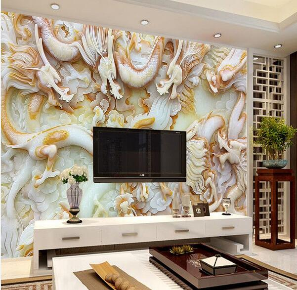 Living Room Wall Murals popular dragon wall murals-buy cheap dragon wall murals lots from