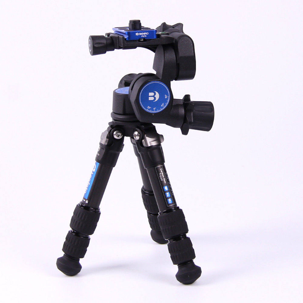 BENRO GD3WH 3D Magnesium Alloy Tripod Geared Head With PU-70 QR Plate for DSLRBENRO GD3WH 3D Magnesium Alloy Tripod Geared Head With PU-70 QR Plate for DSLR