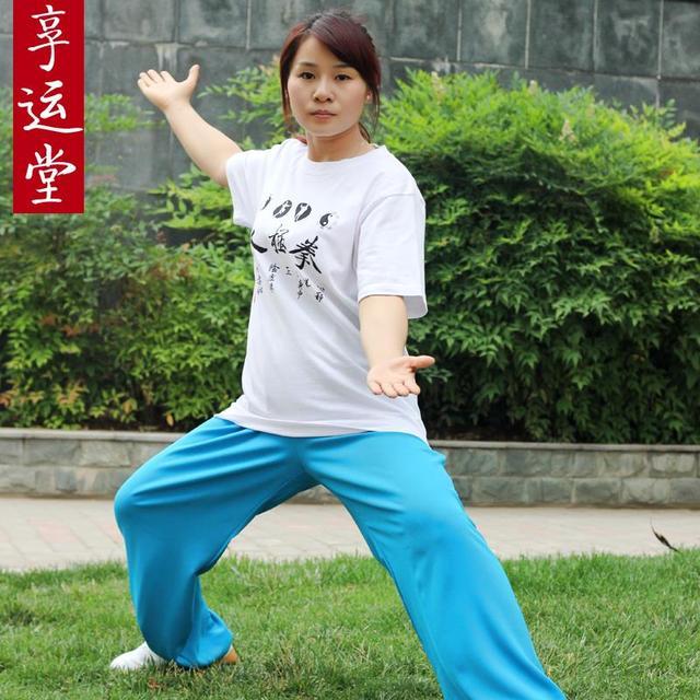 Льняные брюки тай-чи мужчины и женщины тренировки боевые искусства спектакли в тай-чи одежды новые продукты на продажа