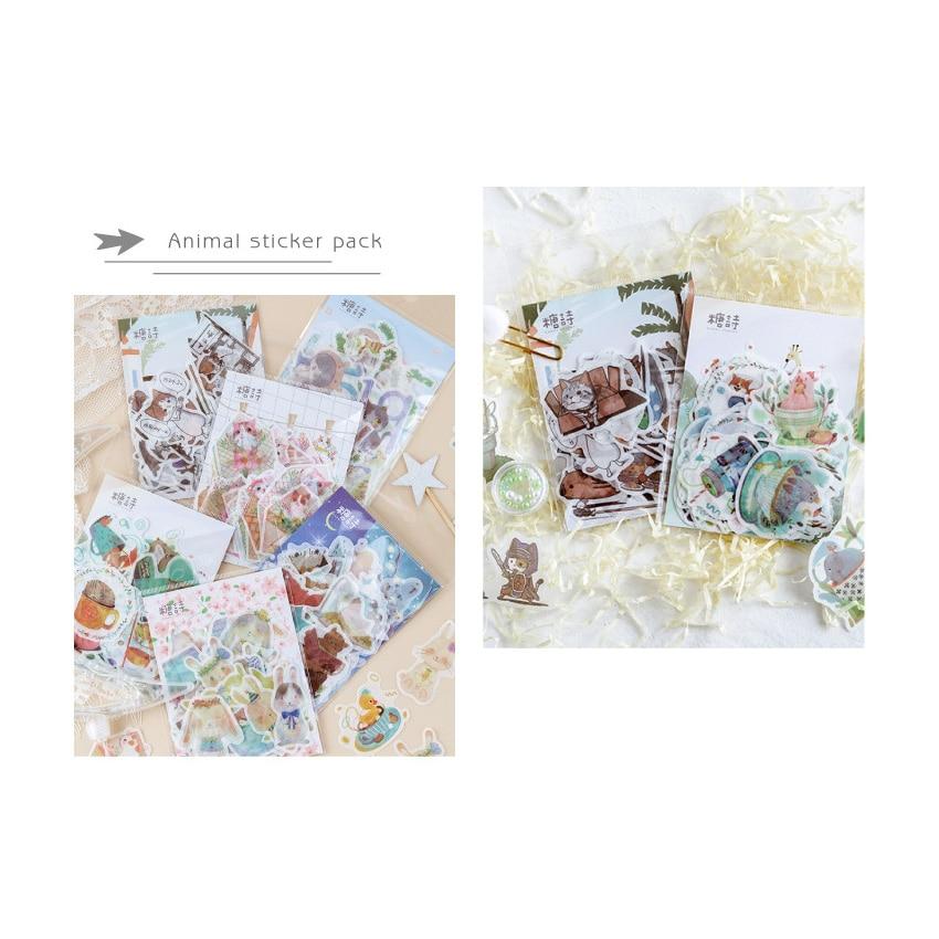 diário adesivos decorativos scrapbooking diy artesanato adesivos de papelaria