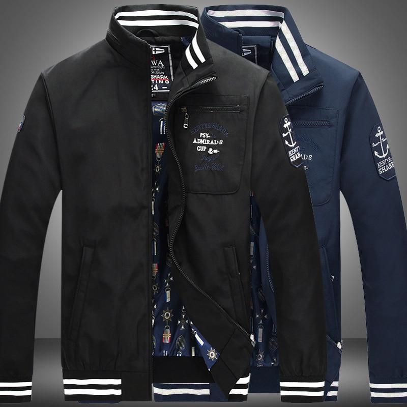 2017 Free shipping Kenty & Shark men's clothing Autumn winter long-sleeved jacket Men's jacket Cotton coat Men's jacket K66501
