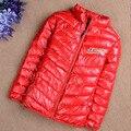 Мальчики или девочки зимние куртки хлопок-ватник верхняя одежда пальто дети зимнее пальто бесплатная доставка