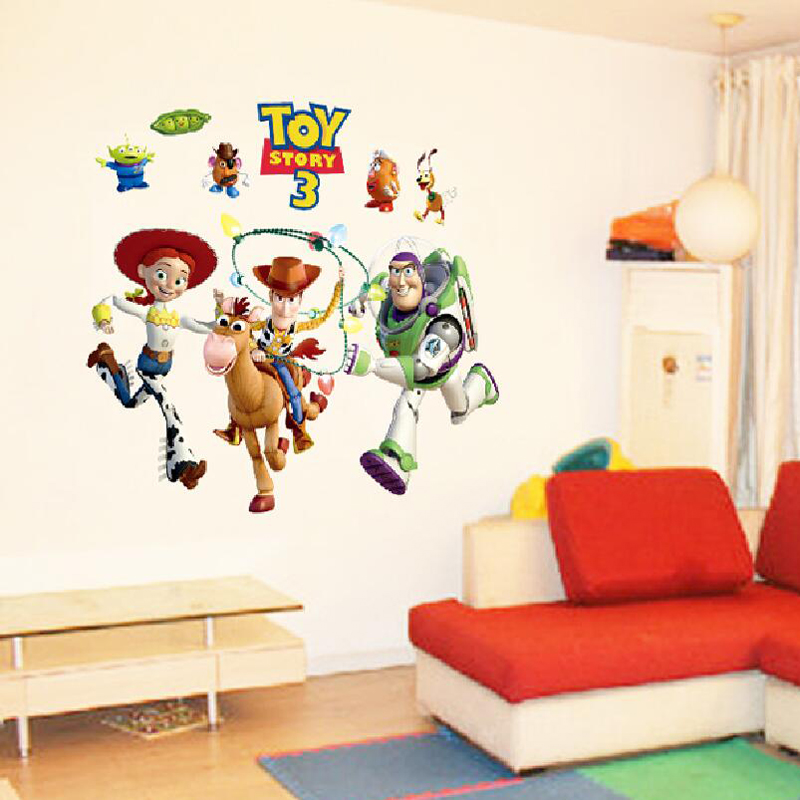 Kids Bedroom Wall Stickers Toy Story